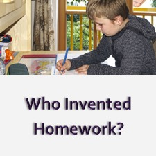 Here is a brief history of homework in the United States.